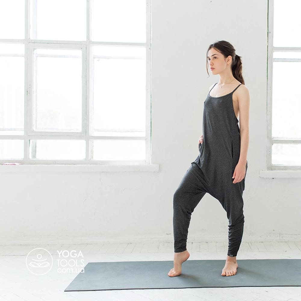 Стильный комбинезон для йоги купить в магазине товары для йоги ... 49527a0baac