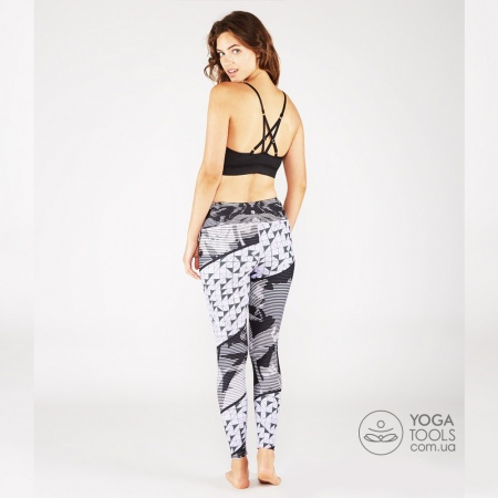 Лосины для йоги eNGINEERED floral, Manduka, USA