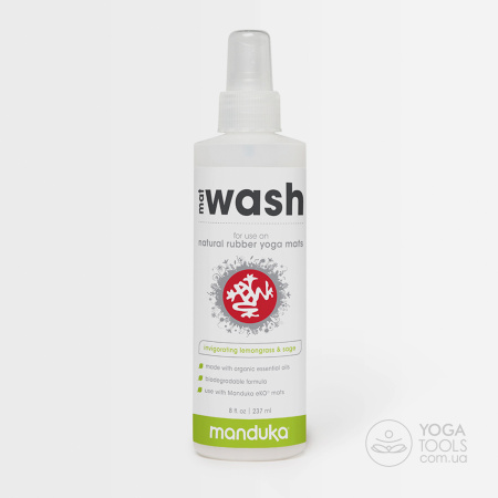 Средство для чистки Rubber Mat (для каучуковых), 60/240/950 ml, Manduka, USA