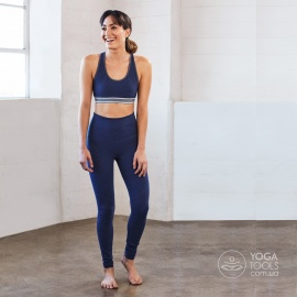 Лосины для йоги e-Cotton blueberry, Manduka, USA